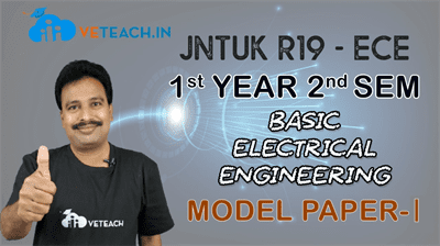 Basic Electrical Engineering Solved Model Paper - 1