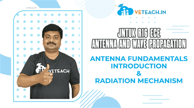 Antenna Fundementals Introduction and Radiation Mechanism