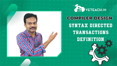 Syntax Directed Transactions Definition