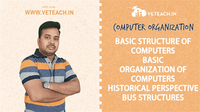 BASIC STRUCTURE OF COMPUTERS_BASIC ORGANIZATION OF COMPUTERS_HISTORICAL PERSPECTIVE_BUS STRUCTURES