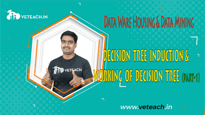 DECISION TREE INDUCTION & WORKING OF DECISION TREE(PART-1)