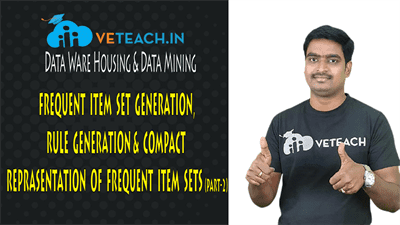 Frequent Item Set Generation,Rule Generation & Compact Reprasentation Of Frequent Item Sets(Part-2)