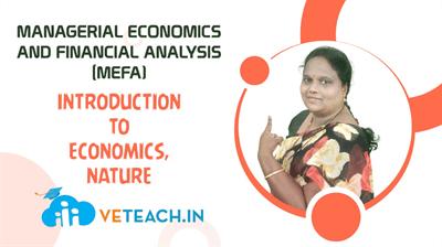 Introduction To Economics, Nature