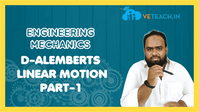 Alemberts Linear Motion Part-1