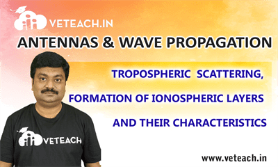 Tropospheric Scattering, Formation Of Ionospheric Layers And Their Characteristics