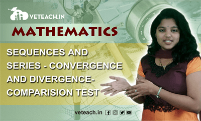 Sequences And Series Convergence And Divergence Comparison Test