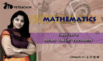 Cauchys Mean Value Theorem