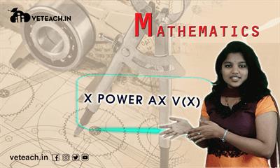 X Power N V(X)