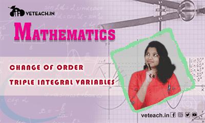 Change Of Order Of Triple Integral Variables