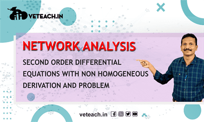 Second Order Differential Equations With Non Homogeneous Derivation And Problem