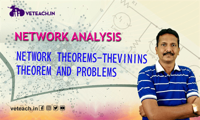 Network Theorems-Thevinns Theorem And Problems