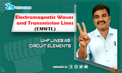 Uhf Lines As Circuit Elements