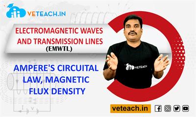 Ampere's Circuital Law, Magnetic Flux Density