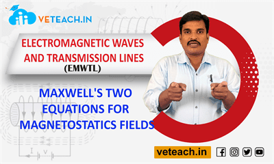 Maxwell's Two Equations For Magnetostatics Fields
