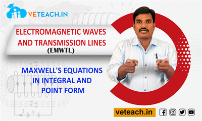 Maxwell's Equations In Integral And Point Form