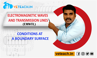 Conditions At A Boundary Surface