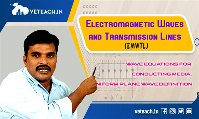Wave Equations For Conducting Media, Uniform Plane Wave Definition