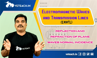 Reflection And Refraction Of Plane Waves Normal Incidence