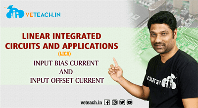 Dc Characteristics Input Bias And Input Offset Current