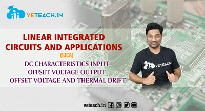 Dc Characteristics Input Offset Voltage Output Offset Voltage And Thermal Drift