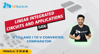 V To I And I To V Converter, Comparator
