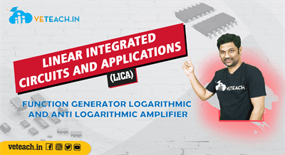 Function Generator Logarithmic And Anti Logarithmic Amplifier