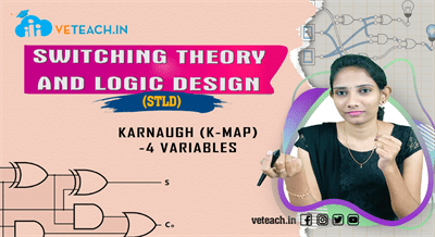 Karnaugh (K-Map)-4  Variables