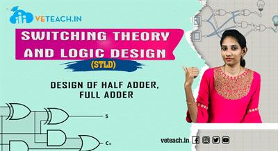 Design Of Half Adder, Full Adder