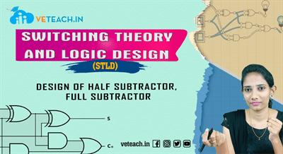 Design Of Half Subtractor, Full Subtractor