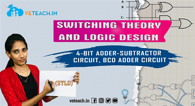 4-Bit Adder-Subtractor Circuit, Bcd Adder Circuit