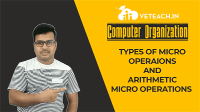 Types Of Micro Operaions And Arithmetic Micro Operations
