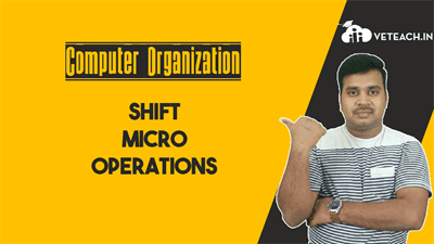 Shift Micro Operations