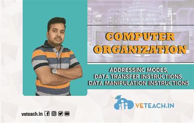Addressing Modes,Data Transfer Instructions,Data Manipulation Instructions