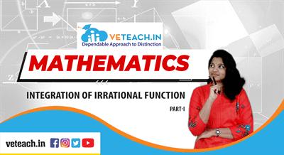 integation of irritional functions-improper integrals
