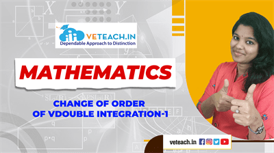 Change Of Order Of Double Integration-1