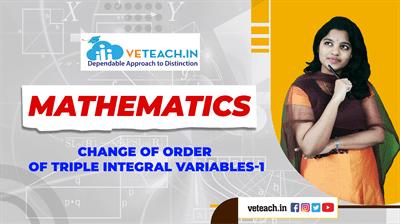Change Of Order Of Triple Integral Variables-1