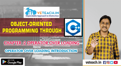 Operator Over Loading Introduction
