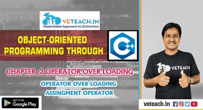 Operator Over Loading `Assingment Operetor