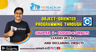 Classes In C++ And Declaring Objects