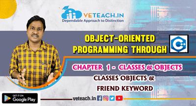 Classes Objects & Friend Keyword