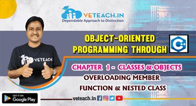 Overloading Member Function & Nested Class