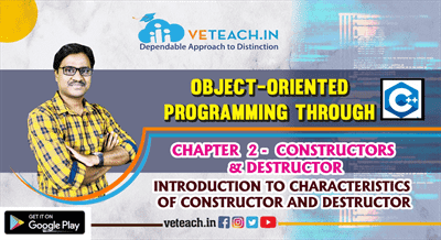 Introduction Characteristics Of Constructor And Destructor