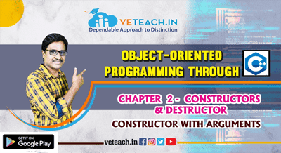 Constructor With Arguments