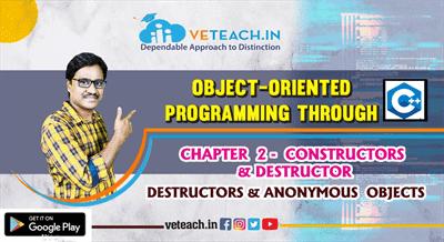 Destructors & Anonymous  Objects